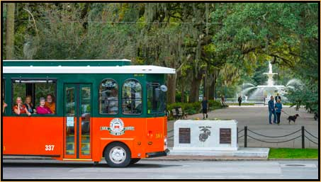 photo of Old Town Trolley Tour in Savannah, Georgia