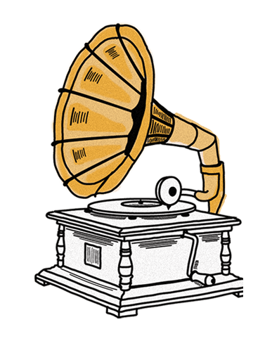 Phonograph illustration