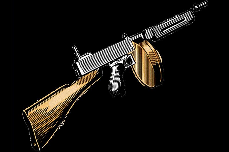 Tommy Gun illustration