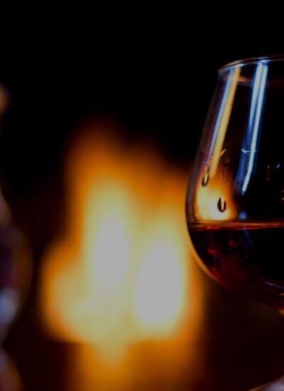 Brandy in snifter