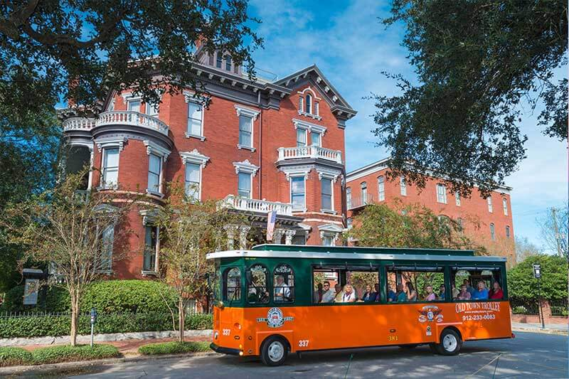 old town trolley savannah