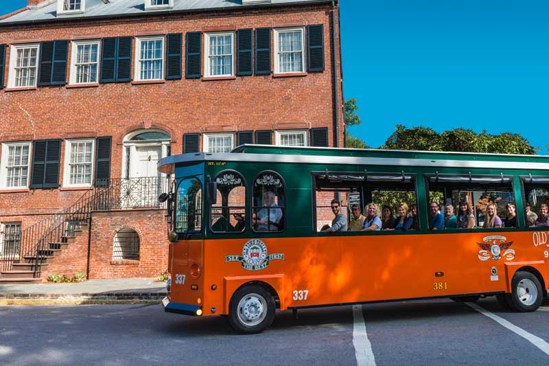 Trolley Tours Savannah