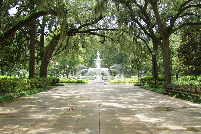 Forsyth Park in Savannah