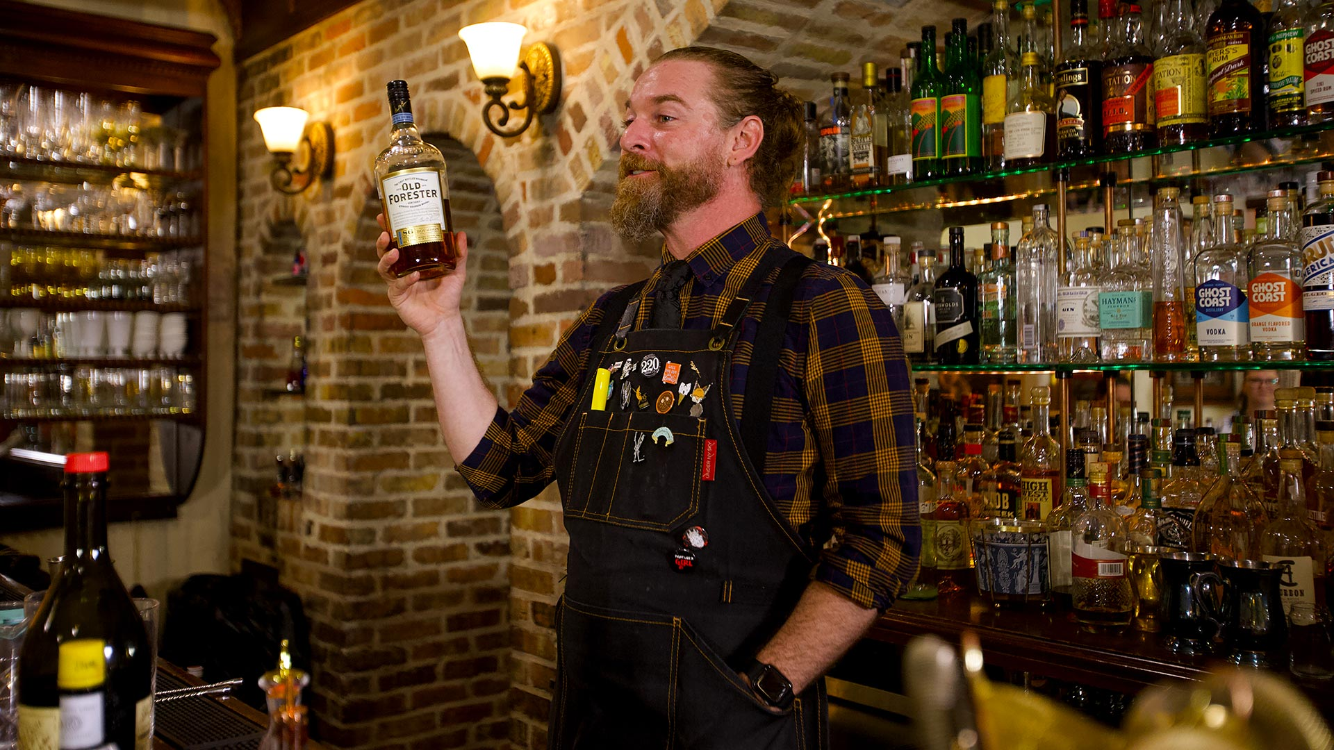 Instructor at the Whiskey Tasting Class at Savannah Speakeasy