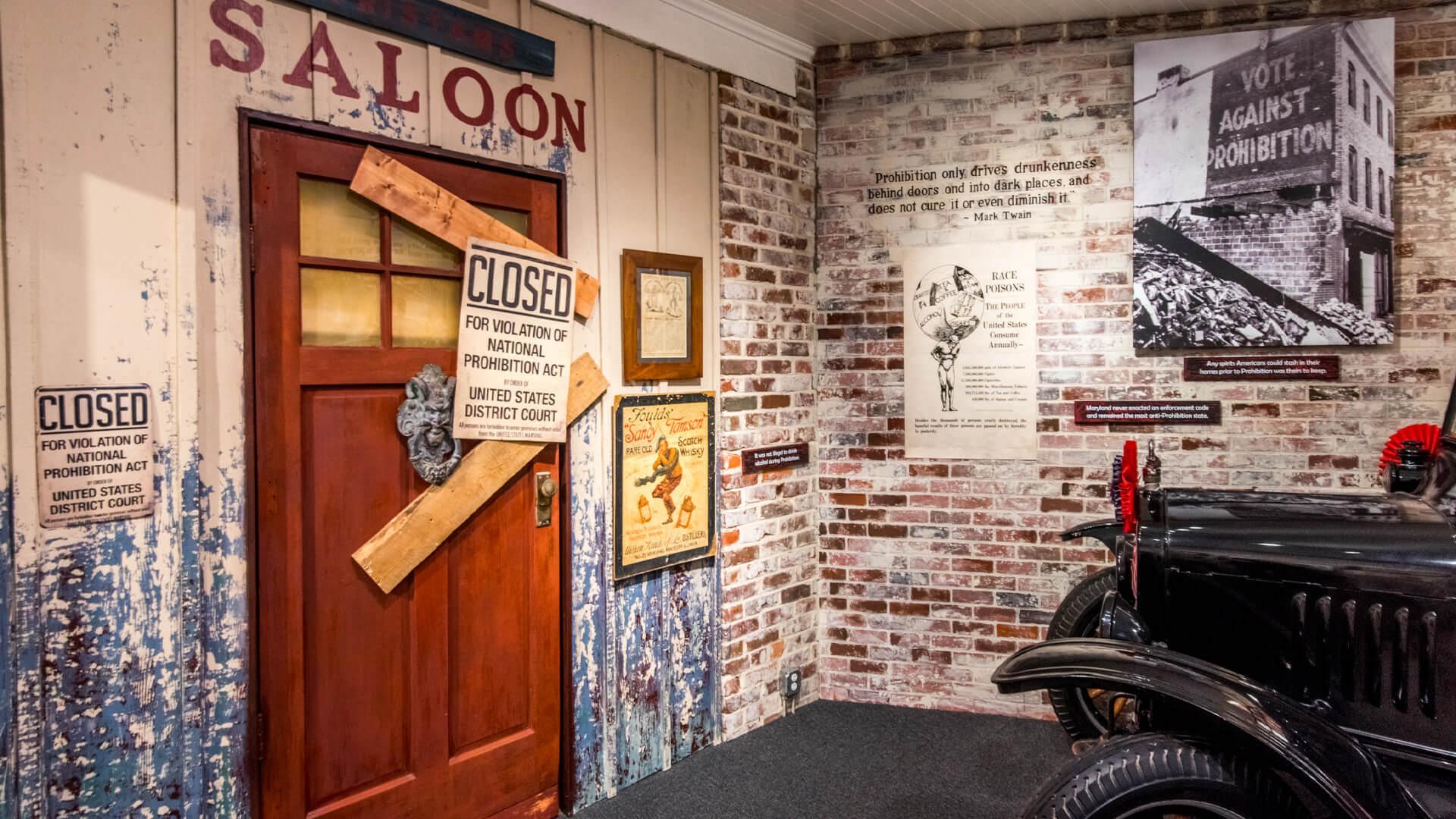 American Prohibition Museum Exhibition
